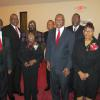 Some of pastor that were on program with chairman, Lucille Frederick and co-chairman, Mother Jannie Lowe