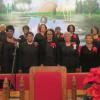 FMBC choir at the morning service.