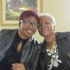 Our Minister of Music, DeOndra Peterson and her mother