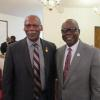 Rev. Theodore Thomas and Dr. Johnson Akinleye